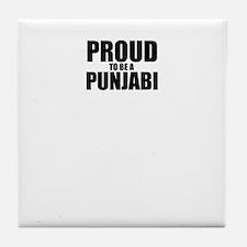 Proud to be PUNJABI Tile Coaster