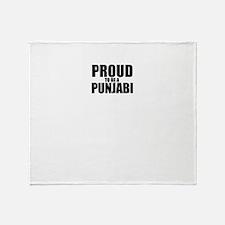 Proud to be PUNJABI Throw Blanket