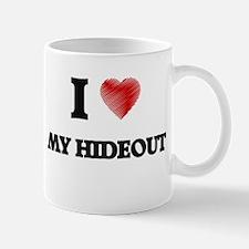 I Love My Hideout Mugs