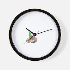 poker chips Wall Clock