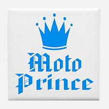 BikerBaby Moto Prince Tile Coaster