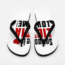 Someone In Liberia Loves Me Flip Flops