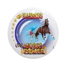 Horse Power Orb Ornament (Round)