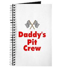 Biker Baby Pit Crew Dad Journal