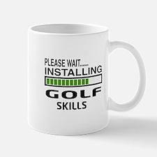 Please wait, Installing Golf Skills Mug