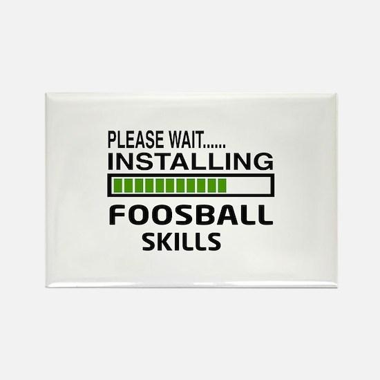 Please wait, Installing Foosball Rectangle Magnet