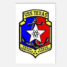 USS Texas (CGN 39) Postcards (Package of 8)