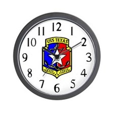 USS Texas (CGN 39) Wall Clock