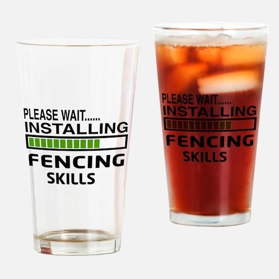 Please wait, Installing Fencing Ski Drinking Glass