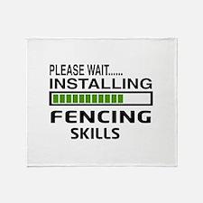 Please wait, Installing Fencing Skil Throw Blanket