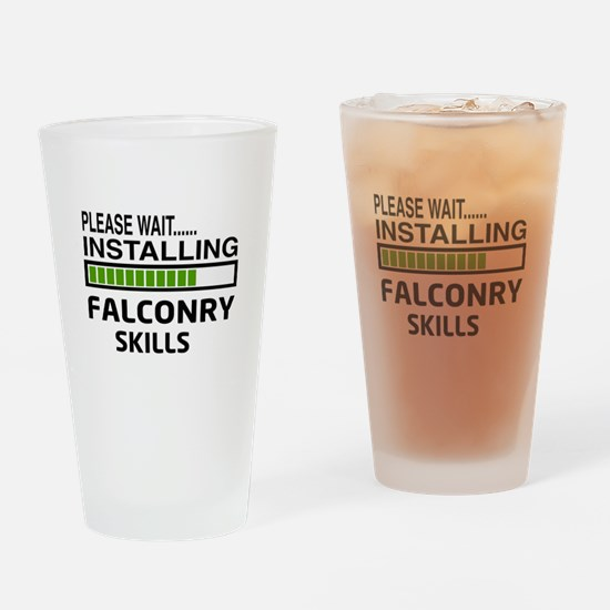 Please wait, Installing Falconry Sk Drinking Glass