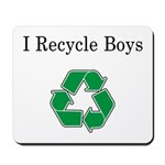 I Recycle Boys Mousepad