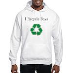 I Recycle Boys Hooded Sweatshirt