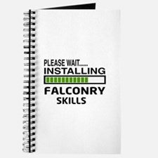 Please wait, Installing Falconry Skills Journal