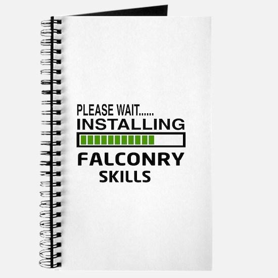 Please wait, Installing Falconry Skills Journal