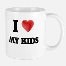 I Love My Kids Mugs