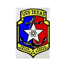 USS Texas (CGN 39) Rectangle Magnet