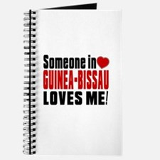 Someone In Guinea-Bissau Loves Me Journal