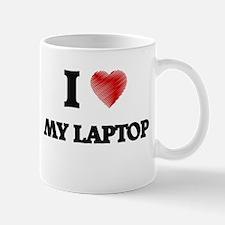 I Love My Laptop Mugs