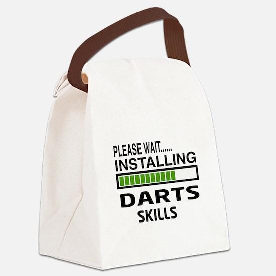 Please wait, Installing Darts Ski Canvas Lunch Bag
