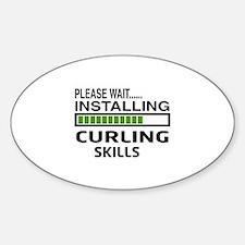 Please wait, Installing Curling Ski Sticker (Oval)