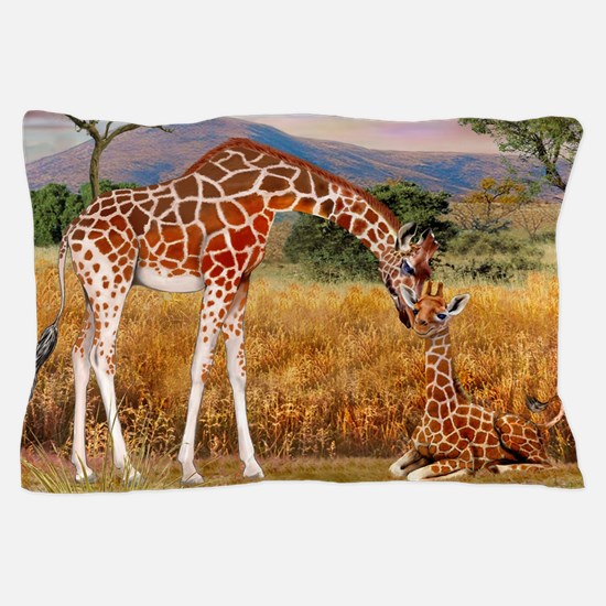 Tall Love From Above Pillow Case