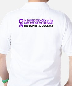 In memory/Support Golf Shirt