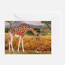 Tall Love From Above Greeting Cards
