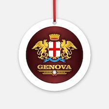 Genova Round Ornament