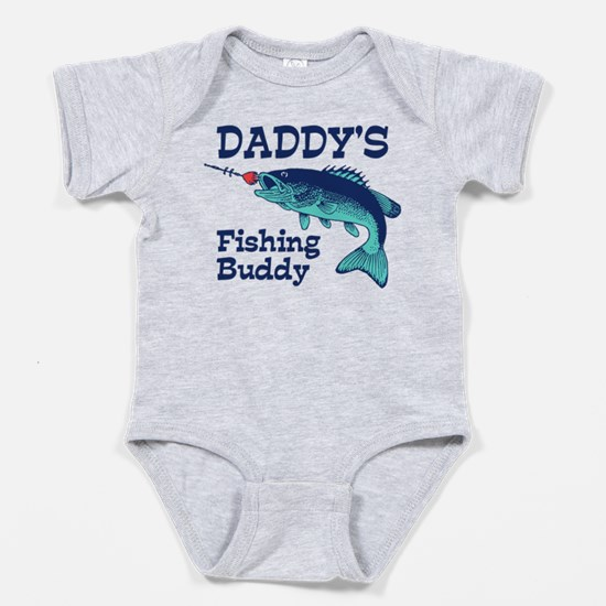 Unique Fishing Baby Bodysuit