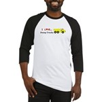 I Love Dump Trucks Baseball Jersey