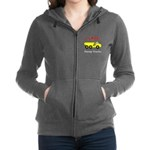I Love Dump Trucks Women's Zip Hoodie