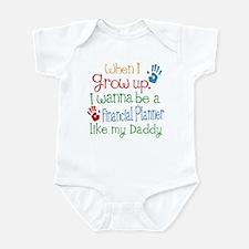 Financial Planner Like Daddy Infant Bodysuit