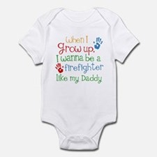 Firefighter Like Daddy Infant Bodysuit