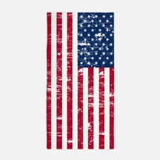 Vintage American Flag Beach Towel