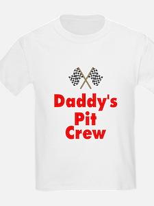 Biker Baby Pit Crew Dad T-Shirt