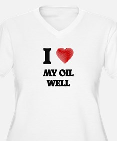 I Love My Oil Well Plus Size T-Shirt