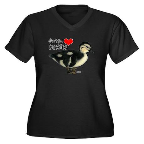 Gotta Love Duckies Plus Size T-Shirt