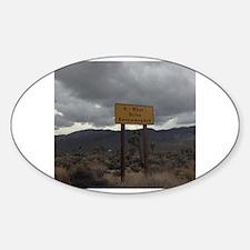 Cute Offroading Sticker (Oval)