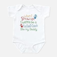 Football Coach Like Daddy Infant Bodysuit