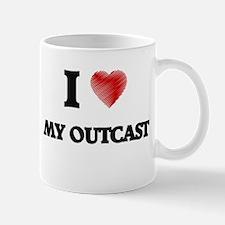 I Love My Outcast Mugs
