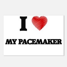 I Love My Pacemaker Postcards (Package of 8)