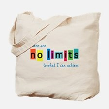 No Limits to What I Can Achieve Tote Bag