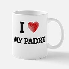 I Love My Padre Mugs