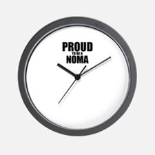 Proud to be NOMA Wall Clock