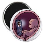 Womb Potato Magnet