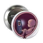 "Womb Potato 2.25"" Button (100 pack)"