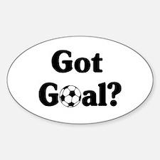 Got Goal? Soccer Oval Decal