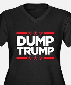 Dump Trump - 2016 Election Plus Size T-Shirt