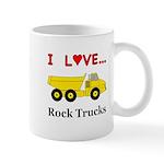 I Love Rock Trucks Mug